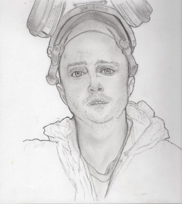 Stars portraits portrait of aaron paul by fish11